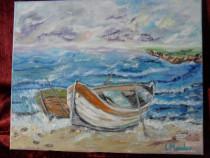Marina 1-pictura ulei pe panza