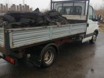 Transport moloz, nisip, carbune, brichete, lemne de foc
