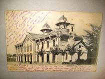 B839-I-Curtea de Arges-Gara 1903-Carte postala Romania regal