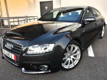 Audi S5 Quattro,2 x S-Line,Piele, Navi,Cameră,BANG & OLUFSEN
