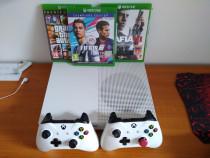 Xbox one s 1tb cu 2 controllere și 12 jocuri