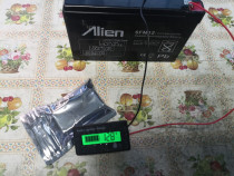 Tester acumulatori plumb-acid 12 V - 48 V
