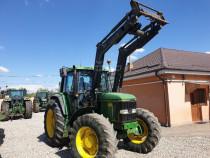 Tractor John Deere 6900, 4x4 + incarcator frontal AGRAM