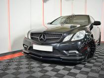 Lip bara fata Mercedes E Class W207 Coupe AMG LINE 09-12 v1
