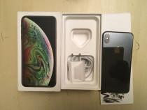 Iphone xs max 64gb neblocat full box