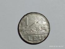 Moneda 1 leu 1966 Republica Socialista Romania