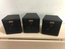 3 Boxe Sateliti Quadral TSA 180 MKII cu Difuzoare de 80/120W