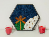 Cadouri tablouri cadouri rame pomisori licheni handmade