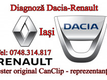Diagnoza cu tester Dacia Renault tester original
