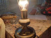 Lampa cu gaz si una cu bec veioza veghe cadou