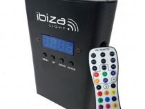 Proiector portabil IBiza, LED, RGBW, acumulator, 4000 mA, DM