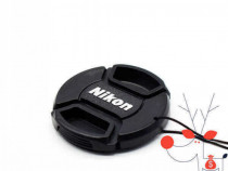 Capac frontal obiectiv Nikon LC-72, camera foto DSLR, diamet