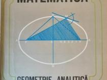 Constantin Udriste - Geometrie analitica, cls. a XI-a, 1994