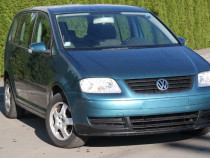 Vw Touran - an 2004, 1.6 (Benzina)