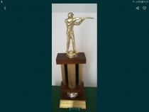 Statueta trofeu tir campionat anul 1974