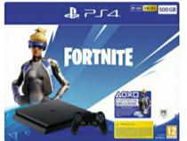 Consola PlayStation 4 FortNite Neo Versa Bundle,500 GB negru