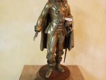 Sculptura deosebita din bronz masiv gen Jan von Werth