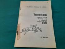 Regulamentul competițiilor republicane de călărie /1989