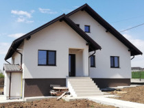 Casa individuala 4 camere, beci, 500mp teren zona Valea Adan