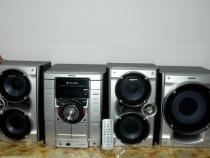Combina muzicala Sony MHC-RG475S,cd,dublu cass,radio,noua.
