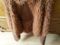 Vesta piele ecologica moale caldurosa