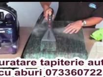 Igienizare cu aburi curatare spalare detailing auto aburi