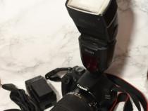 Canon 1200D Sigma 18-250+ Blitz Nissin Di700A