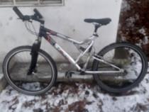 Bicicletă mtb germania 21 viteze cadru aluminiu, frîne disc