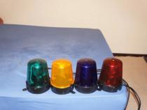 Efect de lumini lampi sirena politie 220V in diferite culori