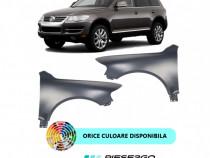 Aripa fata VW Touareg 7L VOPSITA Negru Albastru Argintiu Gri