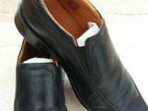 Pantofi piele mar 43 culoare neagra