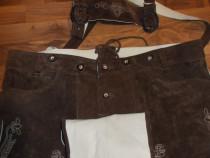 Pantaloni piele oktoberfest bavarezi TCM man by tchibo ,56