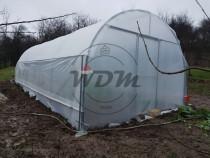 Solar legume cu aerisire laterala - L x l x h: 8 x 4 x 2,8 m