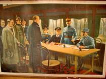 B921-WW1-Semnarea armistitiului primul razboi Noiembrie 1918