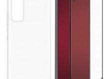 Huawei P SMART 2021 / Z - Husa Silicon Clara + Folie Sticla