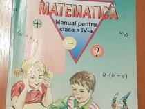 Matematica. Manual pentru clasa a IV-a de Ion Petrica 2004
