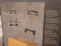 Carucior pliabil cu roti din aluminium, greutate max: 120 kg