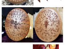 Placa divinatie +cadou un set rune