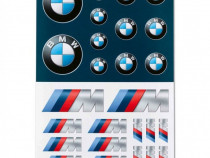 Set Autocolante / Stickere Oe Bmw M 80282466211