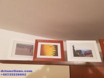 Set 6 rame foto in 2 culori Dimensiuni exterioare 25x15 cm