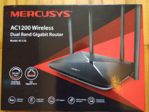 Router wireless MERCUSYS, Gigabit, Dual-Band cu Garantie