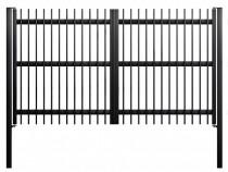 Poarta batanta din teava profilata 99 zincata termic