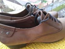Pantofi, piele Caprice Walking on Air, mar 39 (24.6 cm)