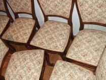 Set de 6 Scaune din Lemn Masiv pentru sufragerie.