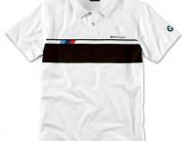 Tricou Polo Barbati Oe Bmw M Motorsport Lifestyle Alb / Negr