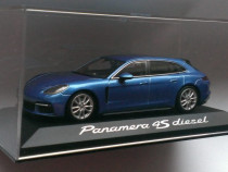 Macheta Porsche Panamera 4S Diesel Sport Turismo 2017 - 1/43