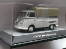 Macheta Volkswagen VW T1 camioneta cu prelata - 1/43