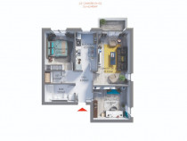 Apartament 3 camere 65,4mp - Maurer Residence Sighișoara