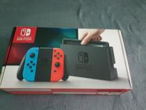 Nintendo Switch cu Zelda BoTW si Rocket League
