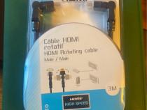 Cablu HDMI Rotativ 3 M